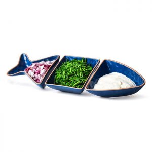 Sagaform fish serving bowl