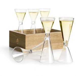 sagaform shot glass set