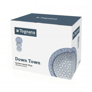 Tognana Metropol Down Town 18-piece dinnerware set